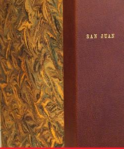 Libro de firmas San Juan