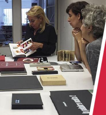 JUNIO CURSO INTENSIVO DE LIBROS DE ARTISTA – LA PALABA COMO LIBRO