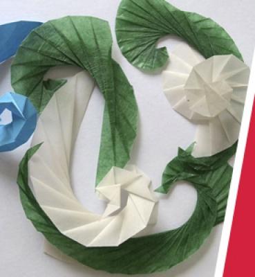 Taller de Origami – Espirales y Hélices