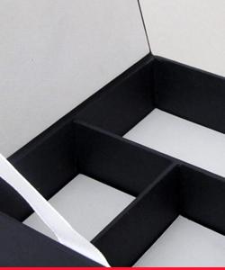 Caja cubierta en tela
