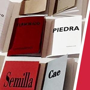 """Curso intensivo – Libro de Artista – """"La palabra como libro"""""""